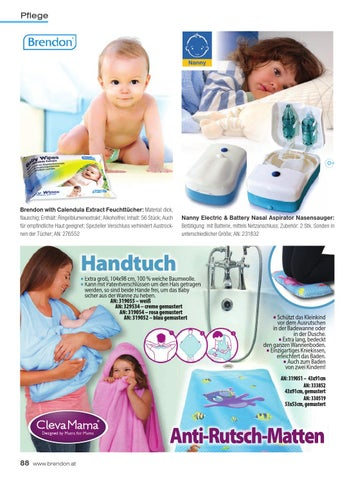 18c83150d236 88 Torlokendo Nanny Clevamam AT.qxp Layout 1 08 12 16 11 59 Page 88.  Pflege. 0. Brendon ...