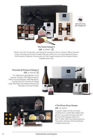 Valentines easter preview 2016 by hotel chocolat issuu send with a free gift message card negle Gallery