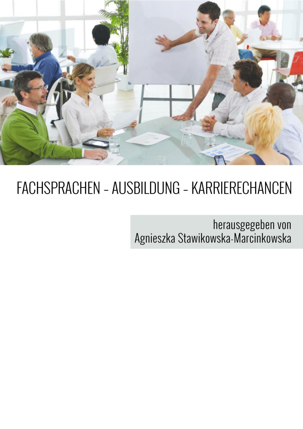 FACHSPRACHEN – AUSBILDUNG – KARRIERECHANCEN by Primum Verbum - issuu