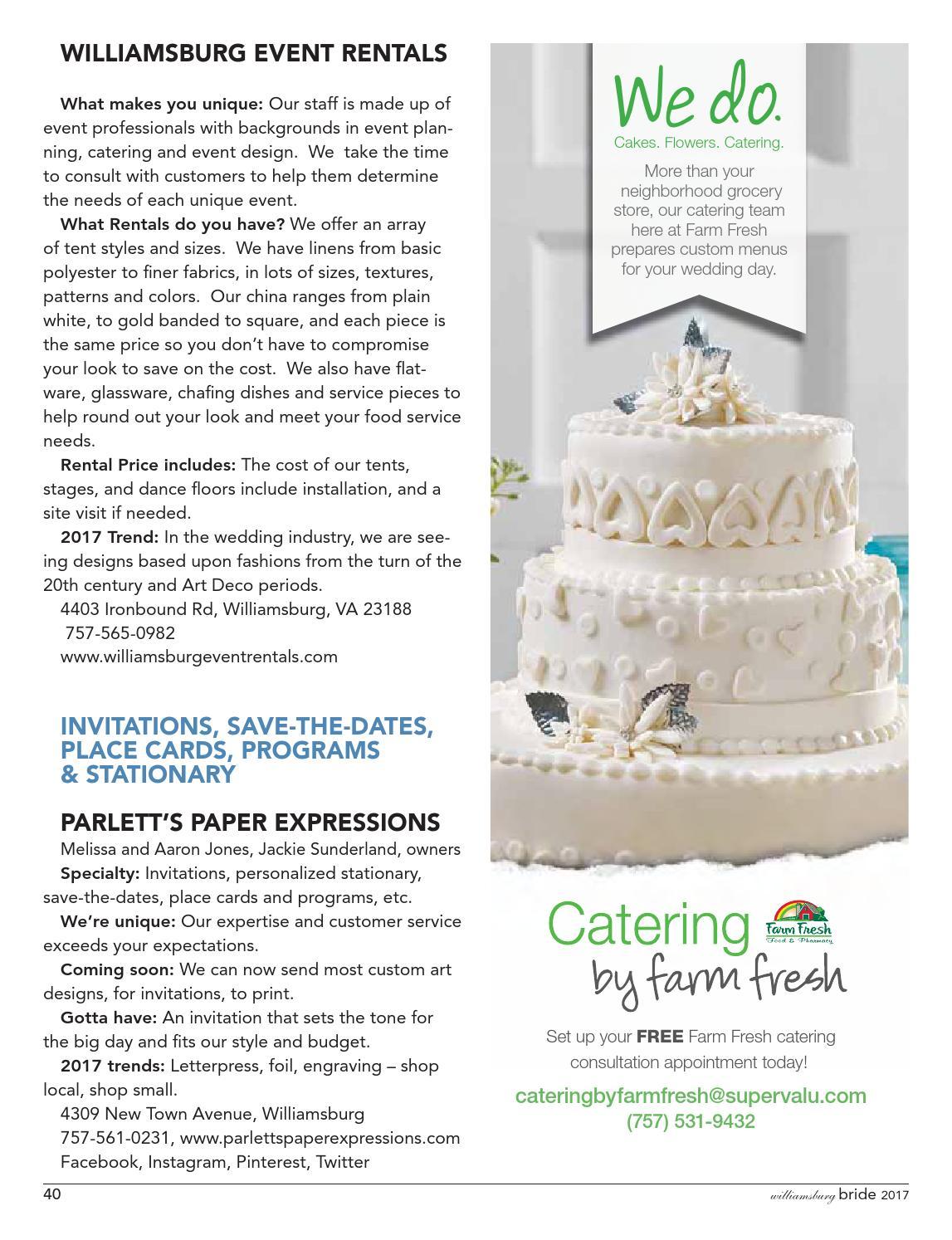 Bridal Guide January 2017, Virginia Gazette by Daily Press Media ...