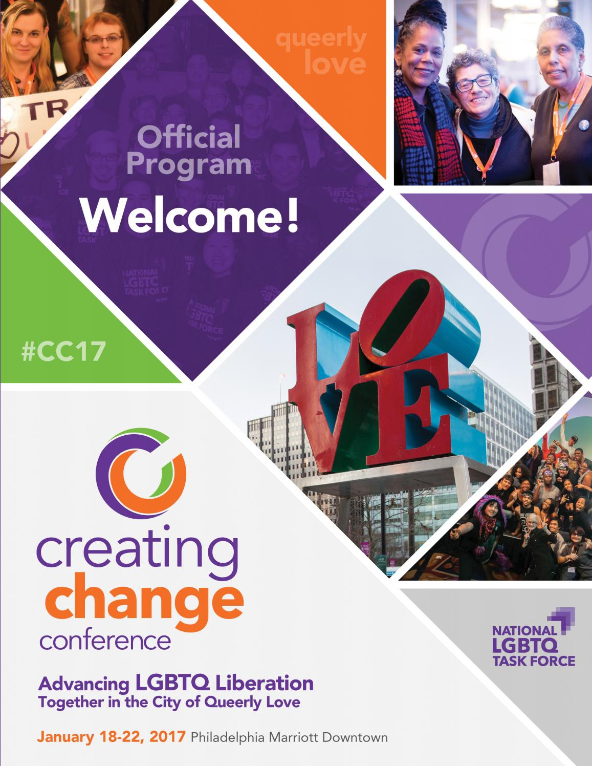 Creating Change 2017 Program By National Lgbtq Task Force Issuu Frame Ucc Competitor 20