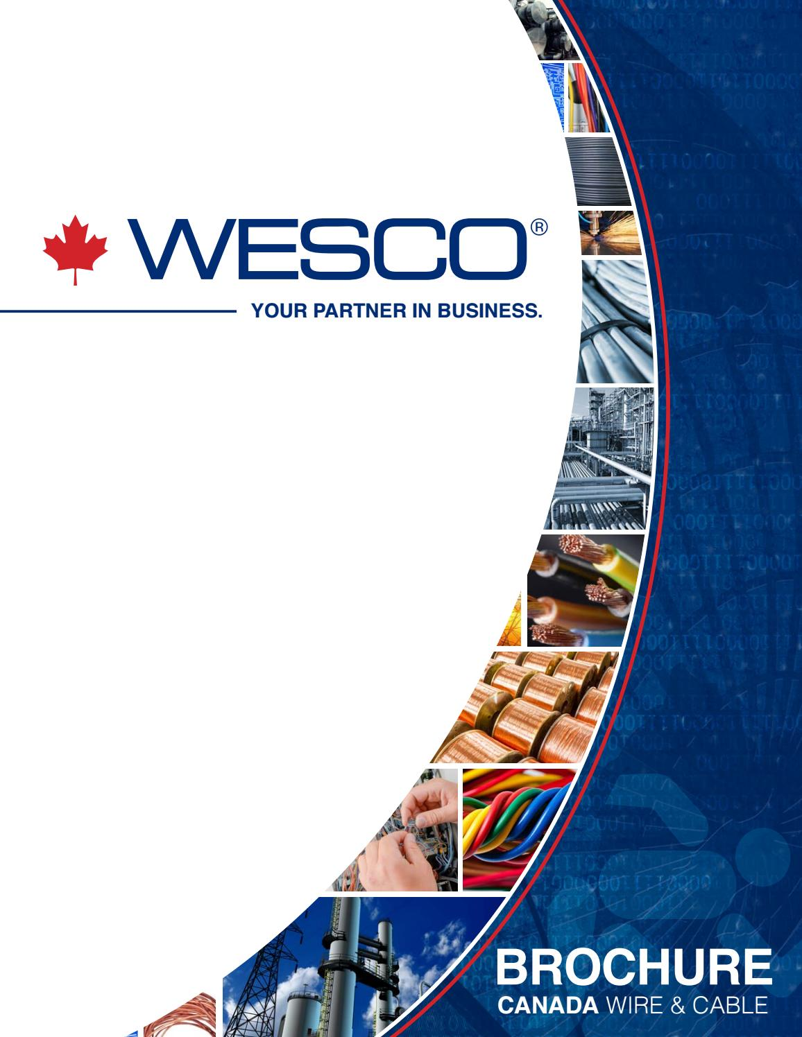 2017 Wire and Cable Brochure by WESCOCanadaMarketing - issuu