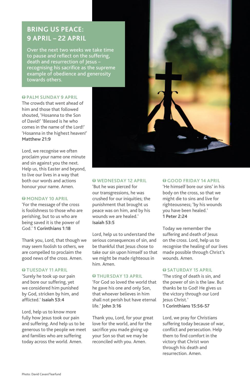 Prayer Diary Spring 2017 by Tearfund - issuu