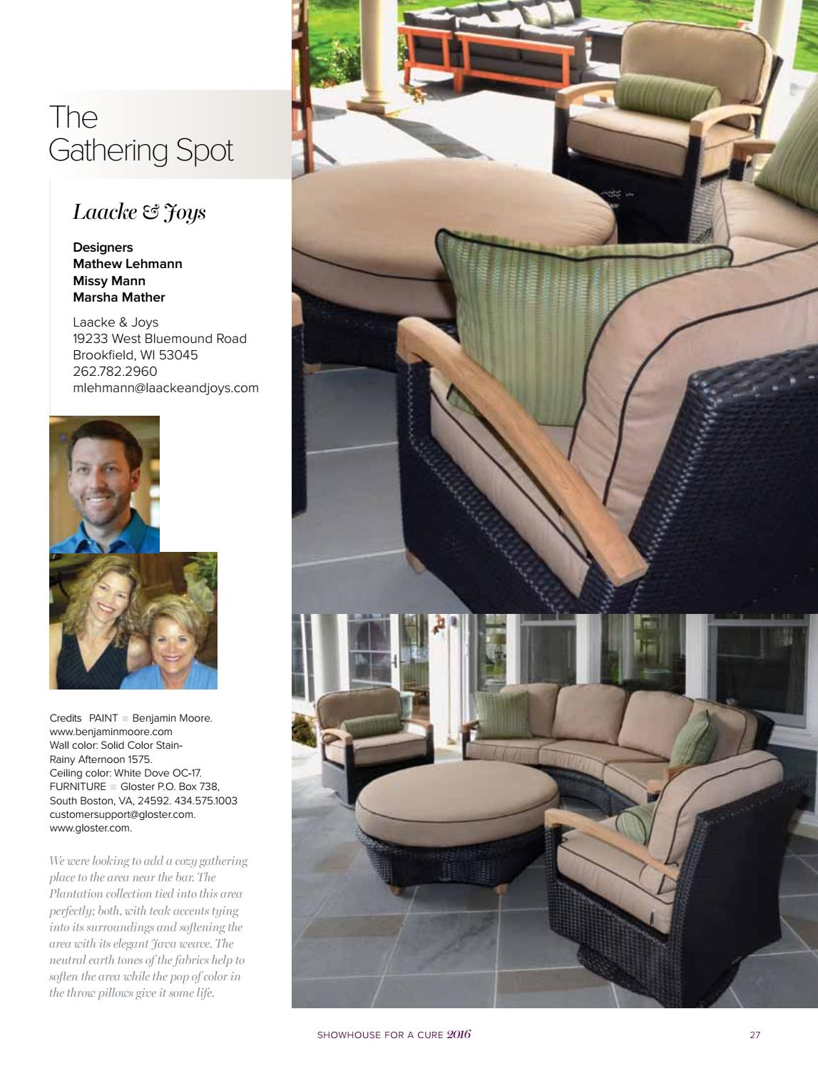 WISCONSIN BREAST CANCER SHOWHOUSE 2016 By Lifestyle Publishing   Issuu