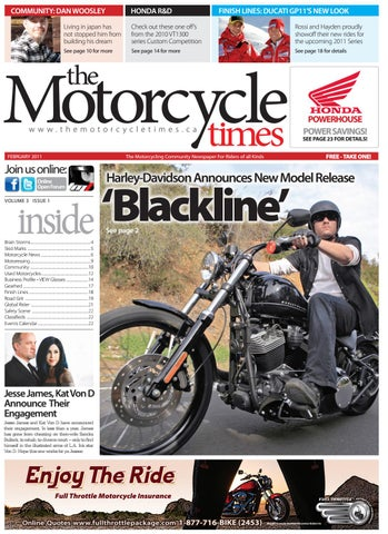 The Motorcycle Times - Feb 2011 by The Motorcycle Times - issuu on