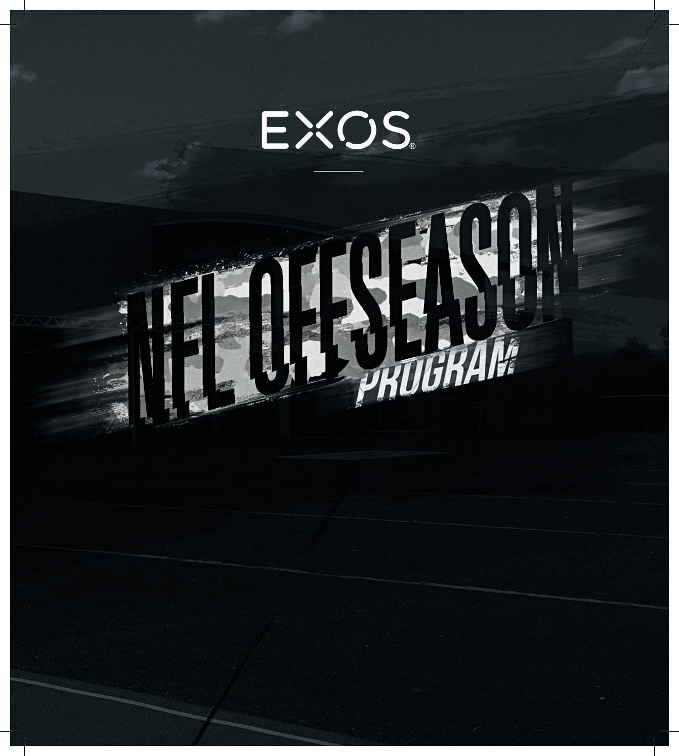EXOS - NFL Offseason Training Program by EXOS - issuu