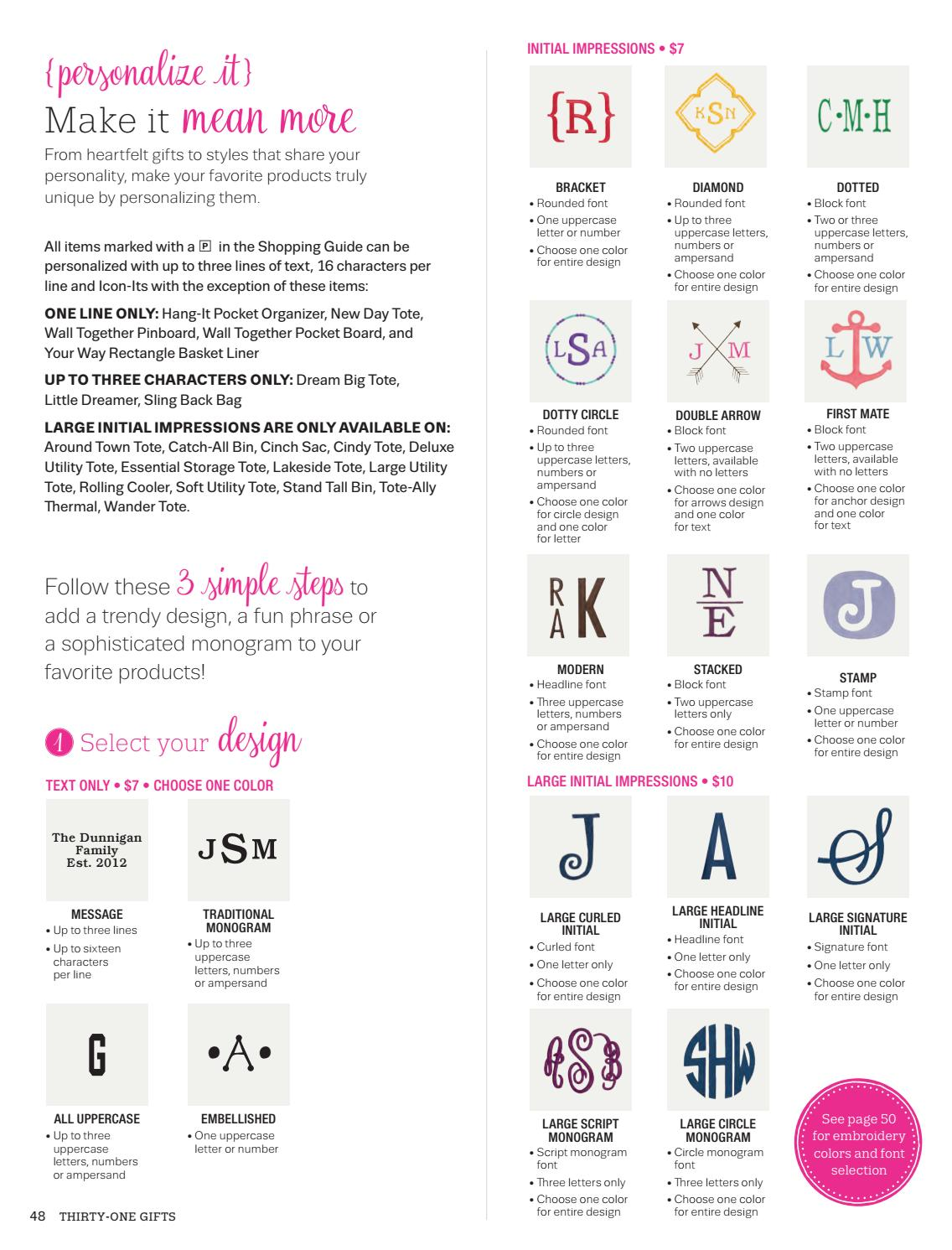 Personalization Guide Spring 2017 by amywoodall 31 - issuu