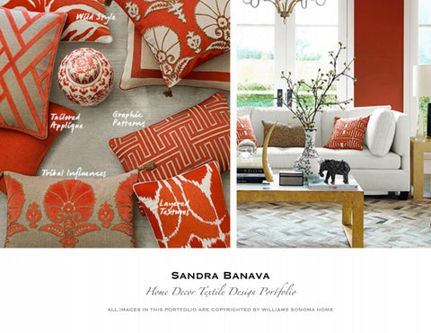Showcasing Color Specialty, Styling, Textile Design work for ...