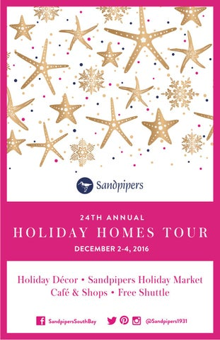 Sandpipers 24th Annual Holiday Homes Tour Event Program by ...