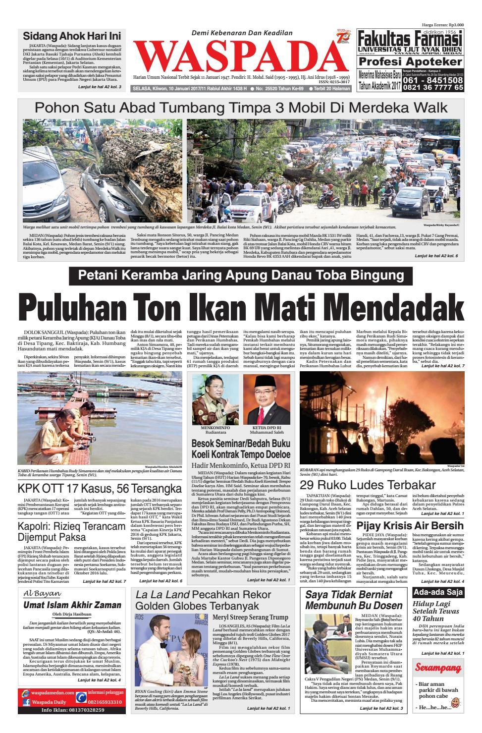 Waspada, Selasa 10 Januari 10 by Harian Waspada   issuu