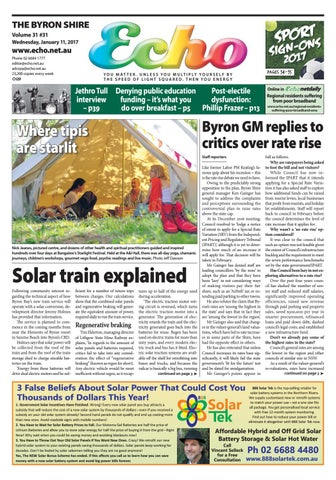 0d8bbe51d Byron Shire Echo – Issue 31.31 – 11 01 2017 by Echo Publications - issuu