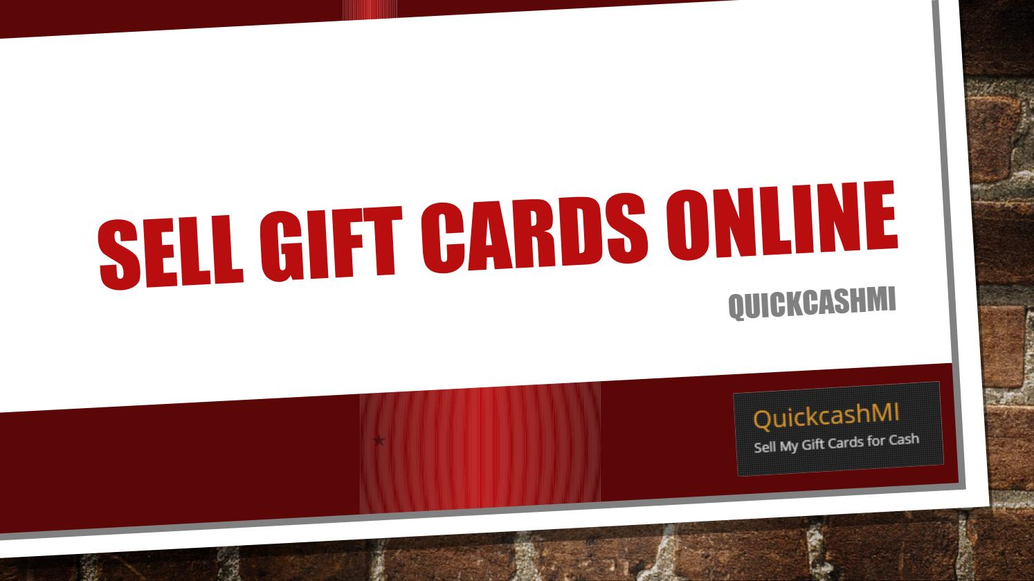 Sell my gift cards by Steve Cooper - issuu
