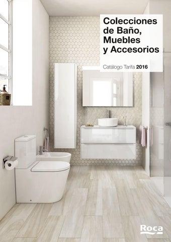 ROCA - Catálogo tarifa colecciones de baño, muebles y accesorios 2016