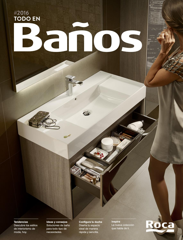 ROCA - Todo en baños 2016 by PROINCO - issuu