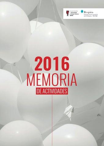 Memoria de actividades SEPAR 2016 by SEPAR - issuu