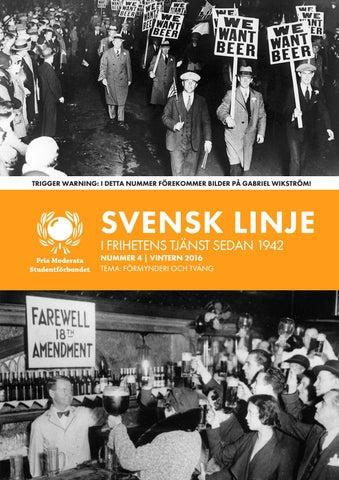 Svenskar belatna med sina svarta affarer