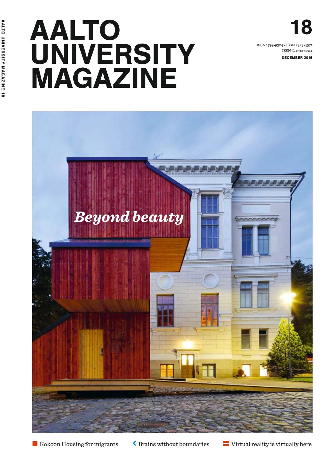 Aalto University Magazine 18 By Issuu These Pages Describe The Domestic Wiring System Installed In Spooky