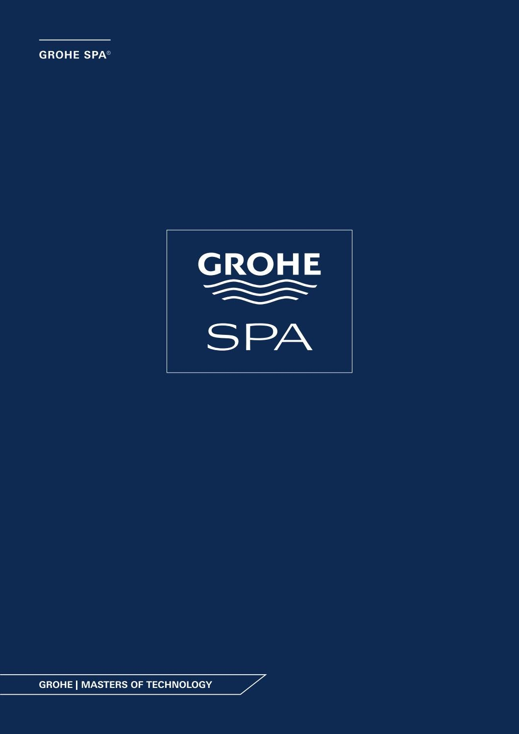 Grohe Spa Brochure by Ideal Bathrooms - issuu