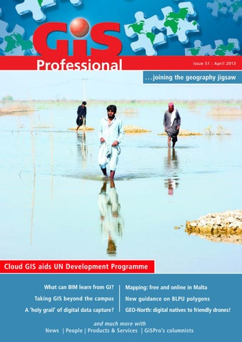 Gis professional april 2013 by Geomares Publishing issuu