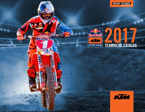 12ce8525665 Red Bull KTM Teamwear Catalog 2017 by KTM GROUP - issuu