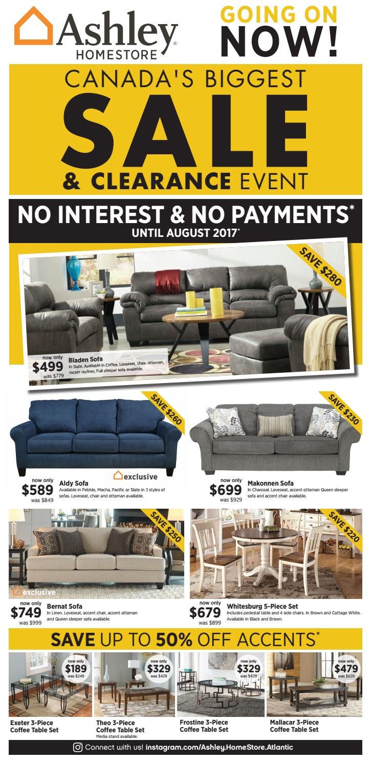 Ashley HomeStore . Sale And Clearance Event Ends 07.02.17