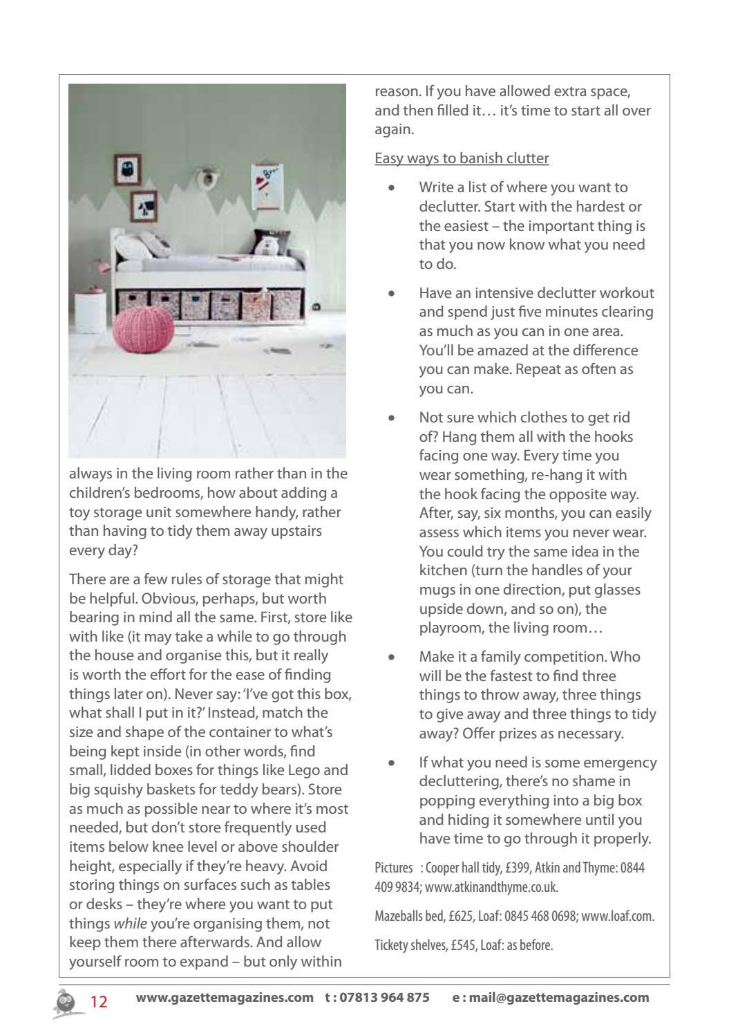 Web issue 113 WE1 by gazette magazines - issuu