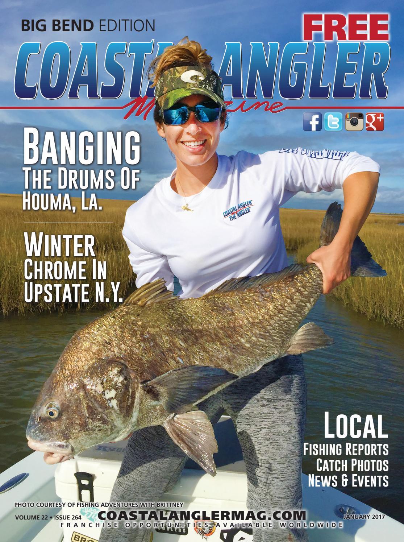 Coastal angler magazine jan big bend by coastal angler for Big bend fishing report