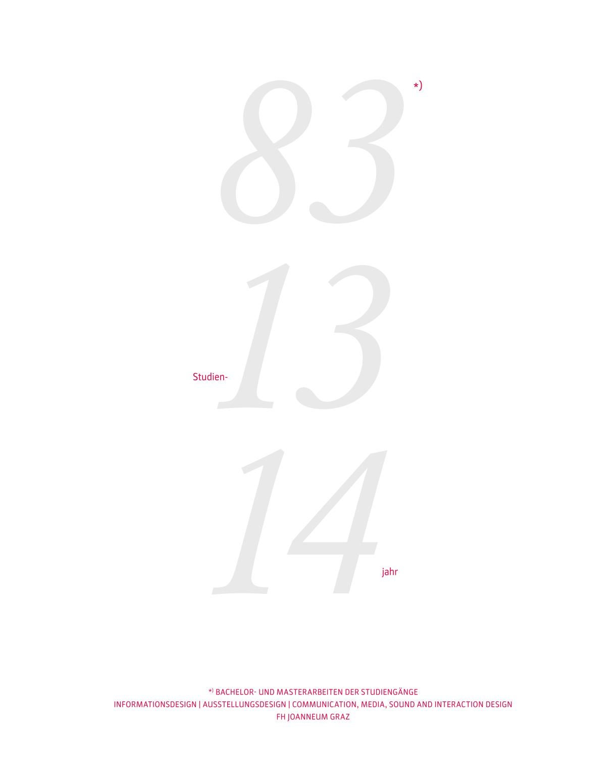 idk-Jahrbuch 83 13 14 by FH JOANNEUM - University of Applied ...
