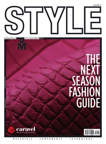 Style 01 17 by Mpa Style Italy - issuu 14a40c4a7bd8