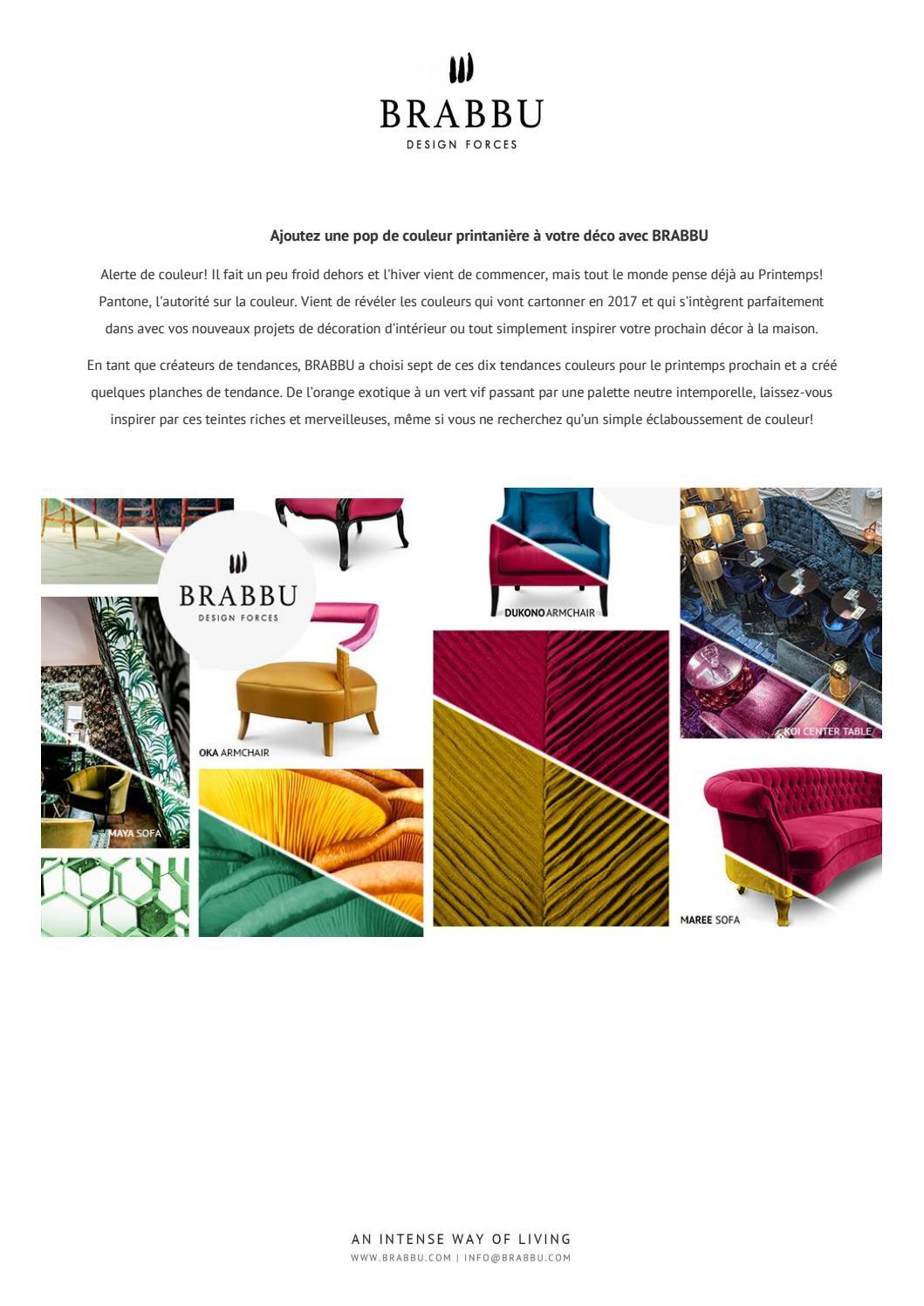 Couleur Pantone De L Année 2017 inspiration des couleurs pantone printanièrebrabbu