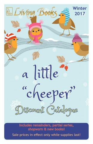 Little Cheeper Discount Catalogue Winter 2017 By Living Books Issuu