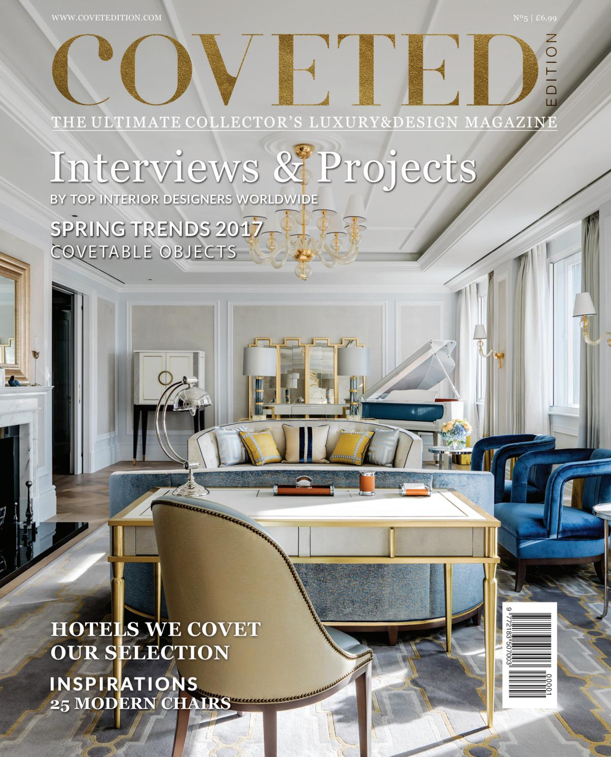 New Home Designs Latest Luxury Homes Interior Decoration: CovetED Magazine 05 By Covet Edition