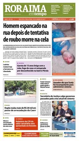 Jornal roraima em tempo – edição 529 by RoraimaEmTempo - issuu 33e97f129d0c0