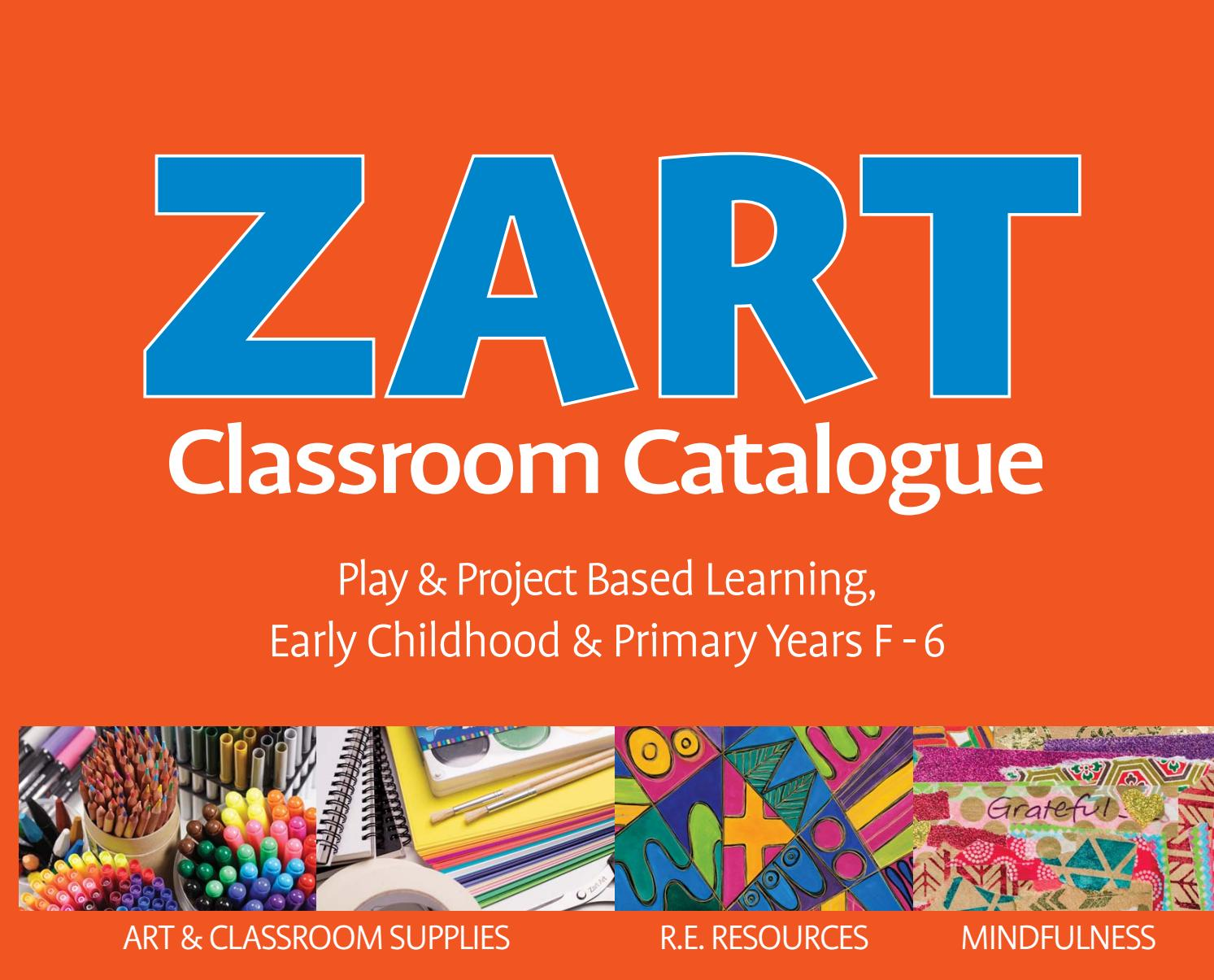 Zart Clroom Catalogue 2017 by Zart : Art, craft and ... on