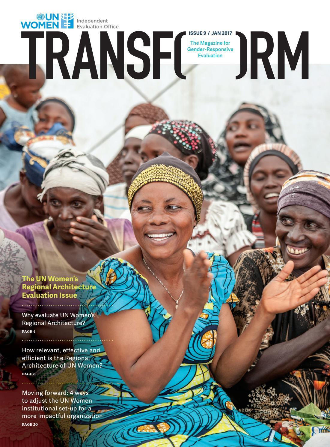 Transform Issue 9: UN Women's Regional Architecture