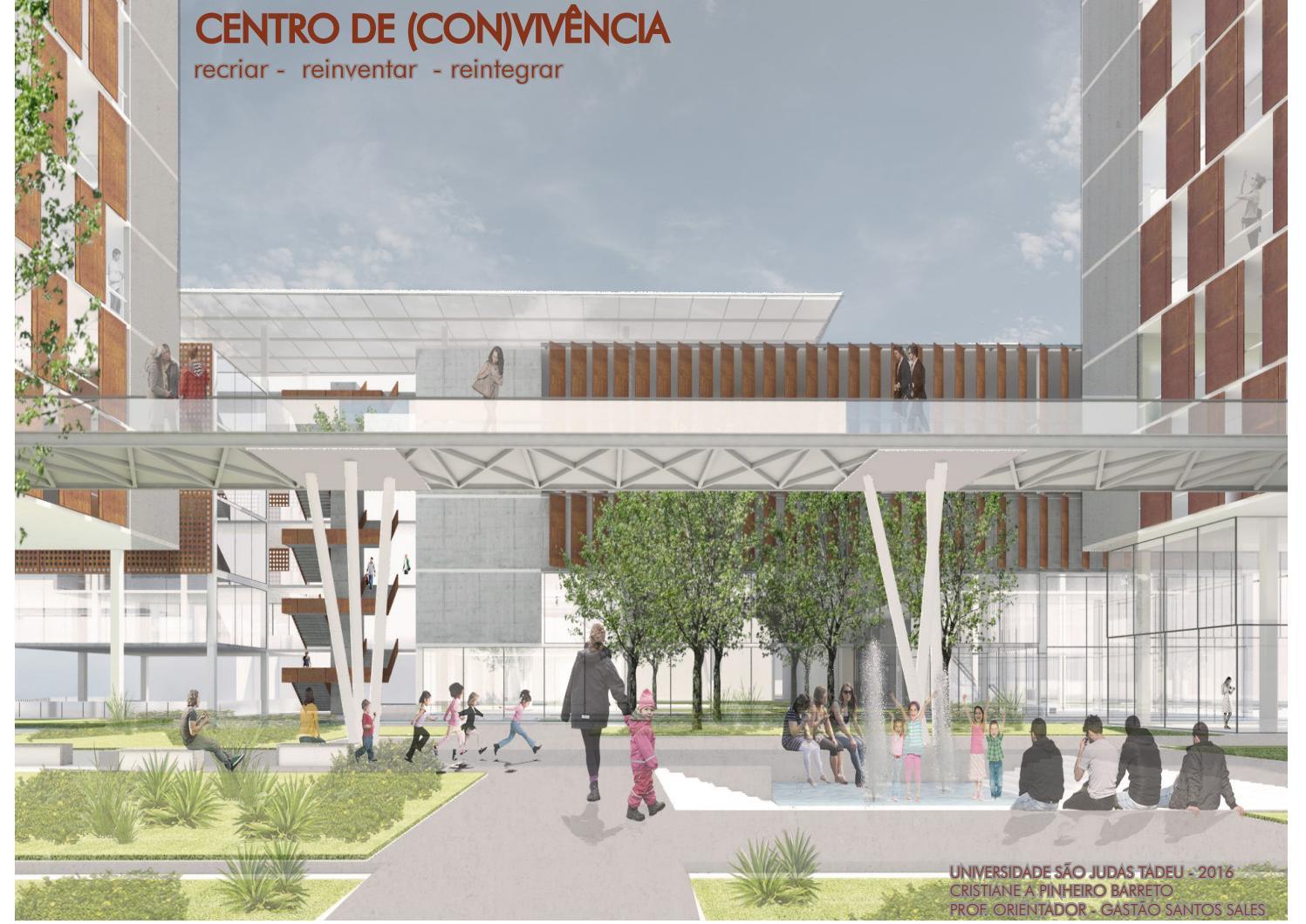 Tfg Centro De Con Viv Ncia By Cris Pinheiro Issuu