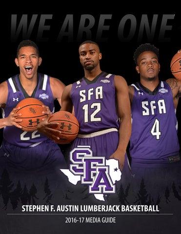 7290dbb1ba5 2016-17 Stephen F. Austin Men s Basketball Media Guide by SFA ...