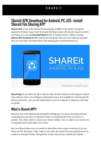 share it apk download free