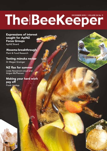 1921a5d9034 Beekeeper - December 2016 by Apiculture New Zealand - issuu
