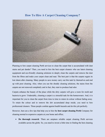 How to hire a carpet cleaning company by capitalcleaners issuu how to hire a carpet cleaning company solutioingenieria Images
