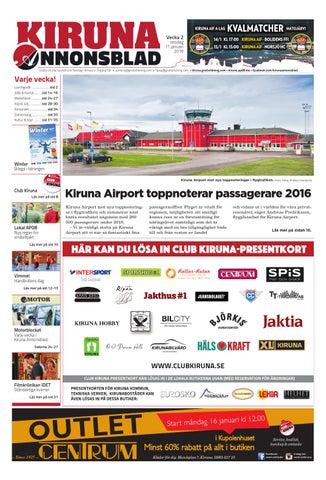 66a574cc5d3 Kiruna Annonsblad med Winterbilaga by Svenska Civildatalogerna AB ...