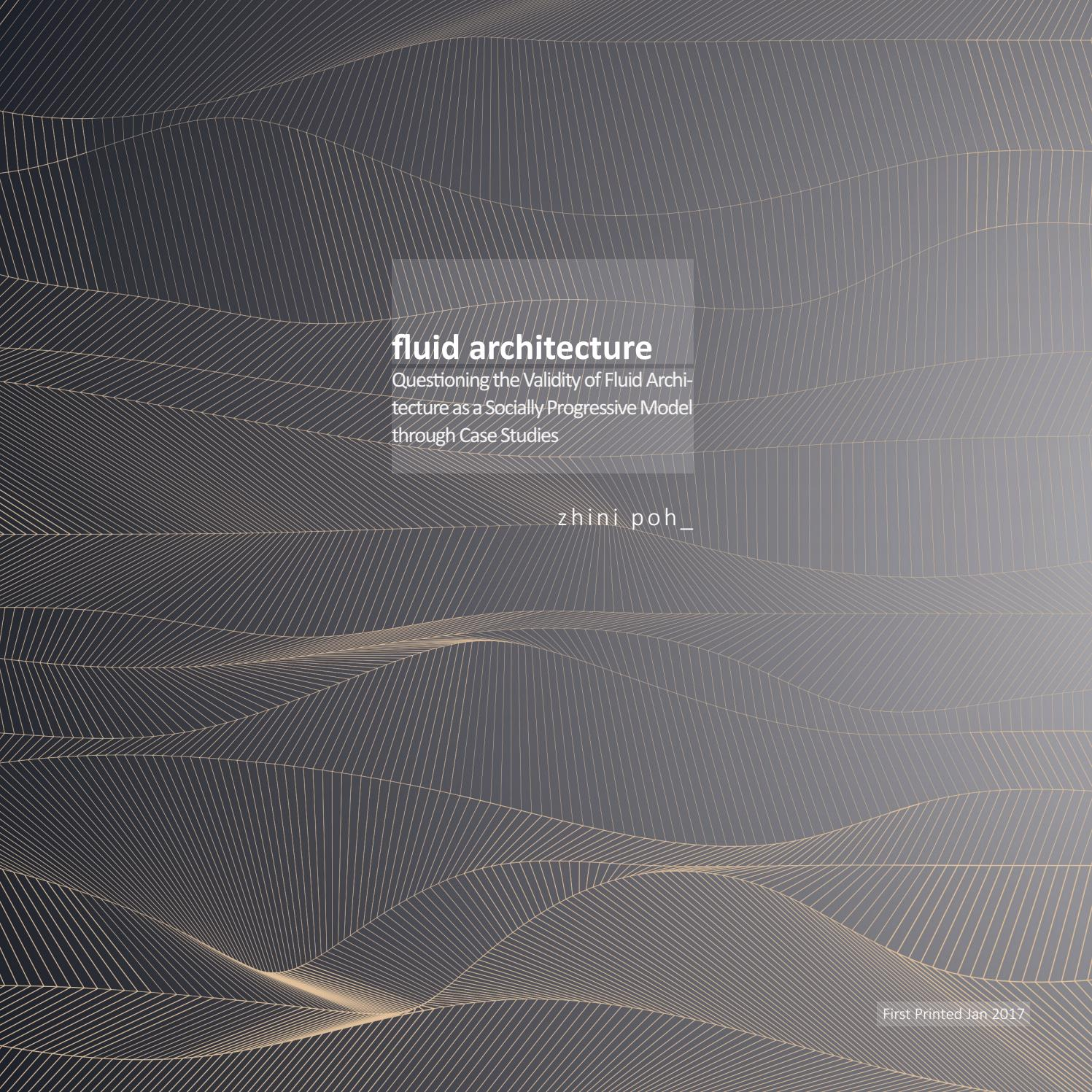 fluid architecture by zhini poh issuu