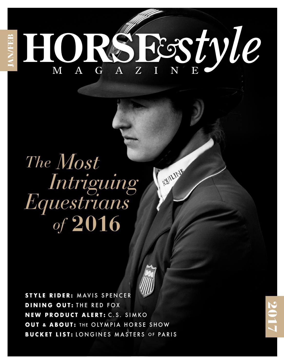 b7b64a0f4e81e Horse   Style Magazine January February 2017 by Horse   Style Magazine -  issuu