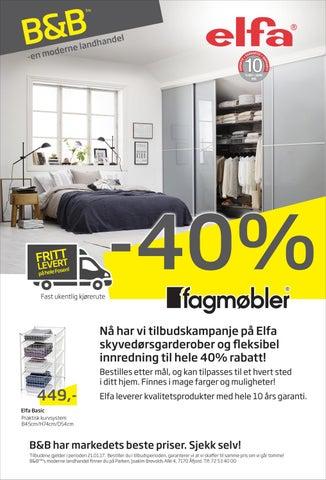 1845998f B&B - fagmøbler Elfa kampanje 11-21 januar 2017