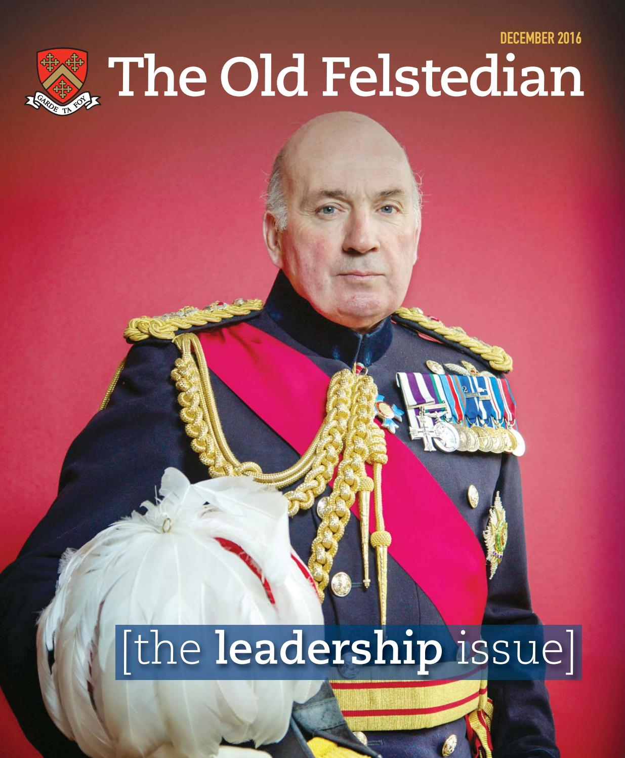 The Old Felstedian 2016 by Felsted School - issuu
