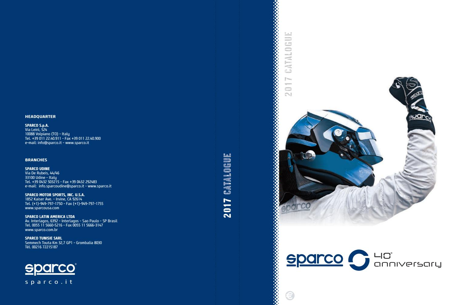 a7b8eca52854 Catalogus sparco 2017 by Speedwear Eyckmans - issuu
