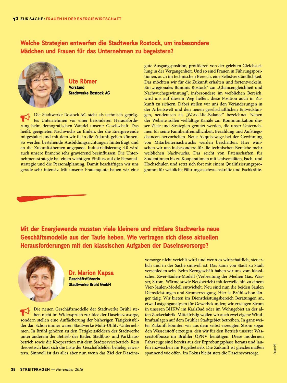 Bdew Magazin Streitfragen 32016 By Bdew Issuu