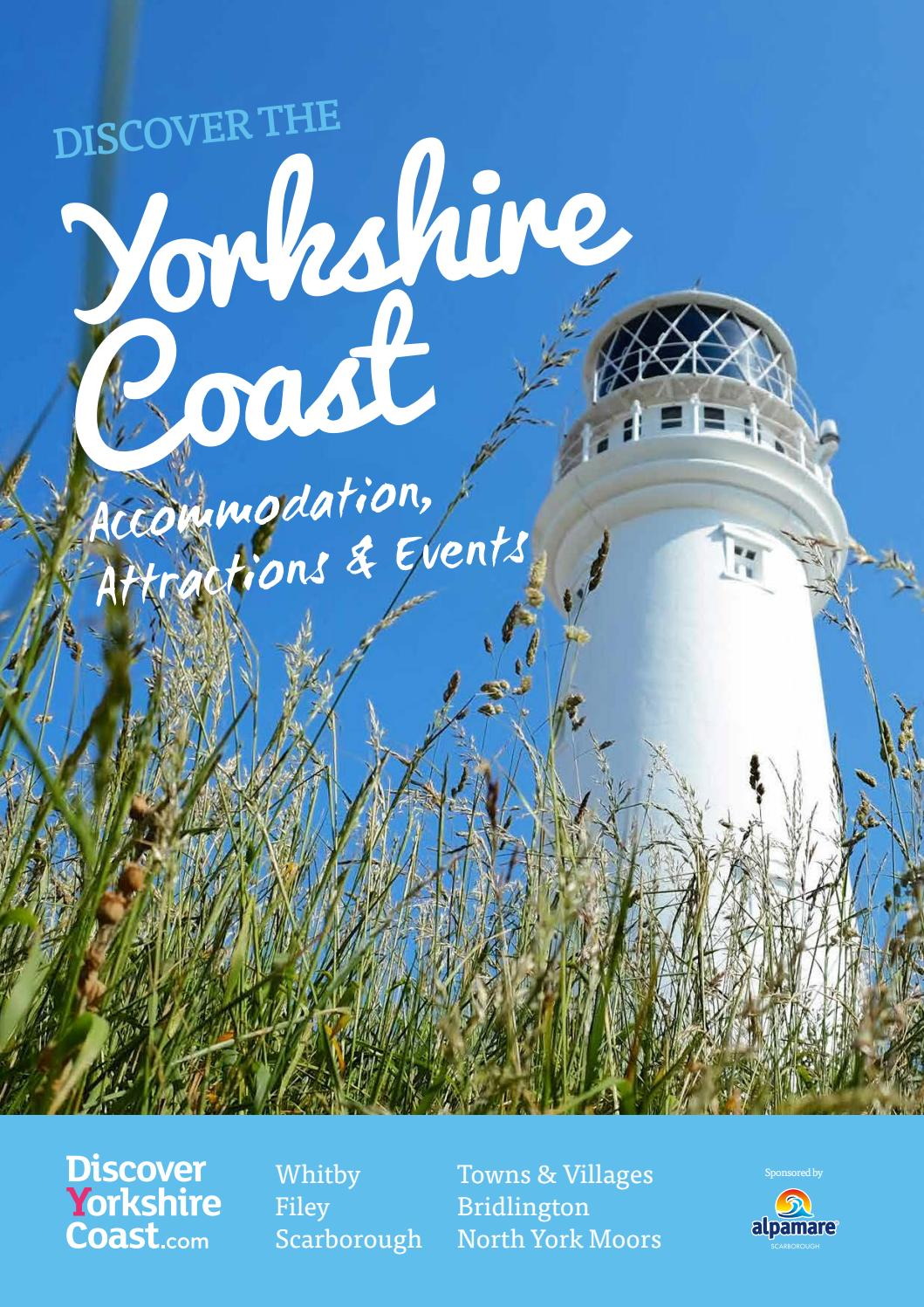 Discover Yorkshire Coast Holiday Guide 2017 by Discover