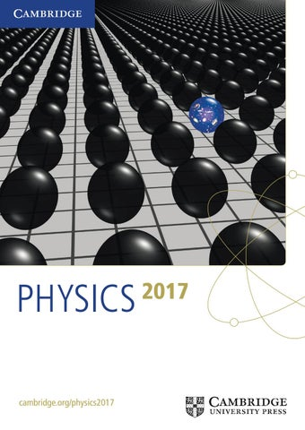 Physics catalogue 2017 by cambridge university press issuu physics cambridgephysics2017 fandeluxe Images