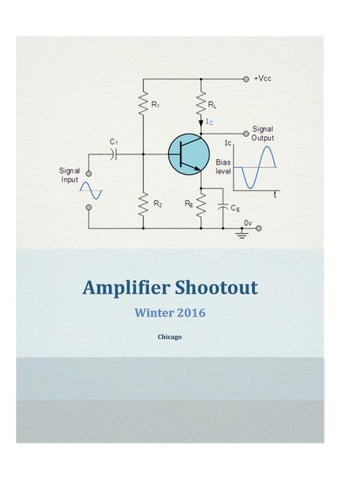 Amplifier Shootout by Matt Hall by Diogo Ianaconi - issuu